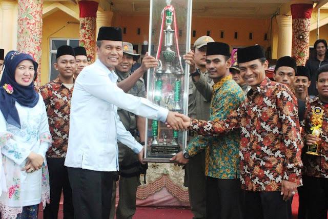 MTQ Ke-7 Tingkat Kota Pariaman Berakhir, Kecamatan Pariaman Tengah Juara Umum.