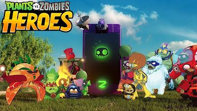 Plants vs Zombies Heroes Apk terbaru + Mod v1.8.23