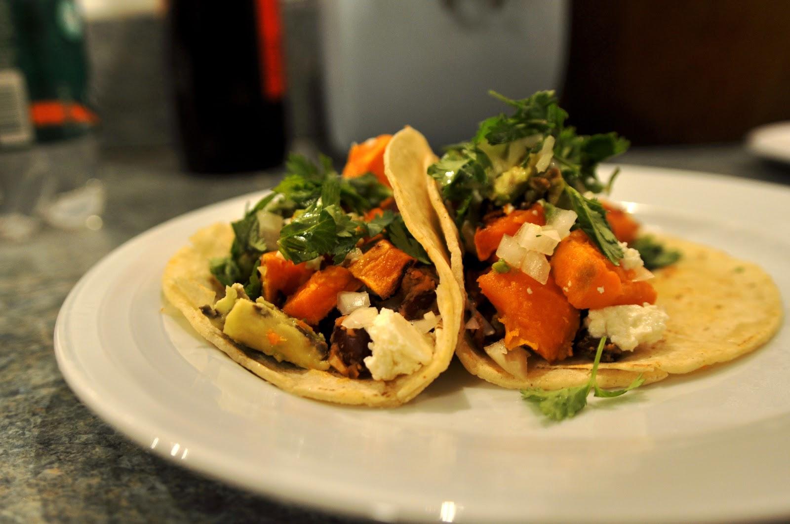 Two Blue Lemons: Sweet Potato Tacos