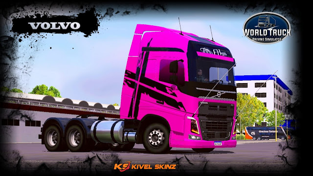 VOLVO FH16 750 - PINK PERFORMANCE EDITION