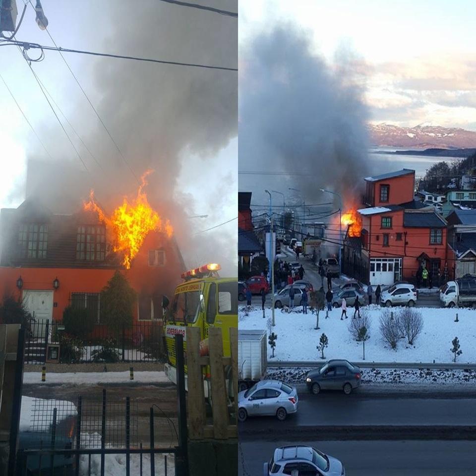 Incendio en Ushuaia sin lesionados