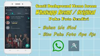 Cara Mengganti Background Whatsapp Resmi Dengan Foto Terbaru 2020