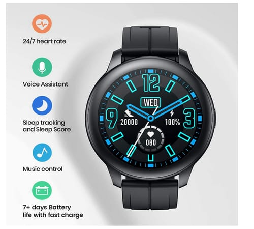 SANAG E19 Smart Watch with Speaker and Microphone