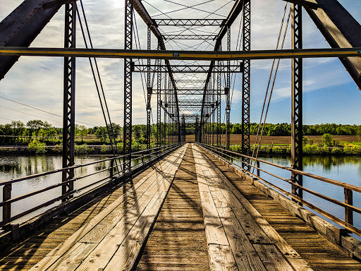 County Highway T crossing the Chippewa River
