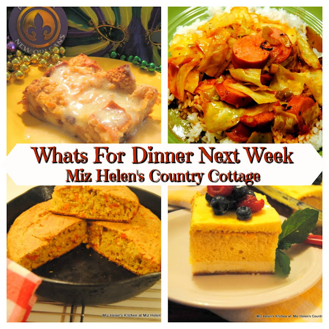 Whats For Dinner Next Week, 2-23-20 At Miz Helen's Country Cottage