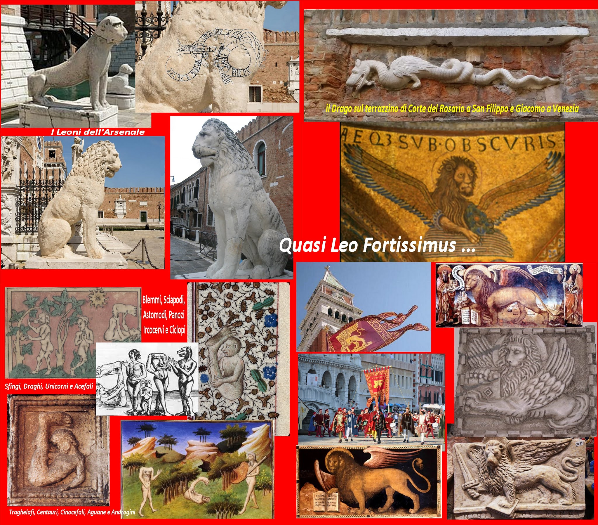 Unacuriositavenezianapervolta Venezia Fra Leoni Draghi E Serpenti