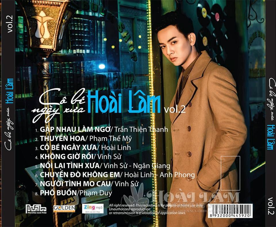[Tin tức] Hoài Lâm ra mắt Album Vol.02 Cô Bé Ngày Xưa