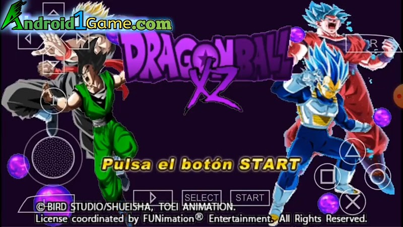 DBZ TTT XZ Mod + Menu BT3 Download
