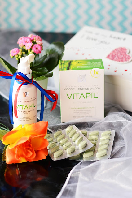 Vitapil tabletki suplement diety i profesjonalny lotion