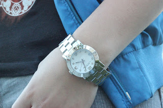Silver Marc by Marc Jacobs Watch