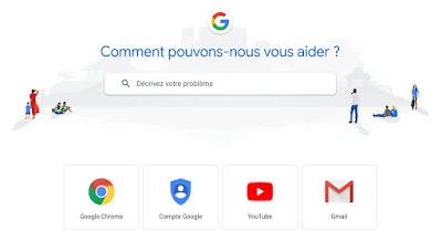 كيف تتواصل مع Google