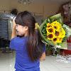 Handbouquet Sun Flowers 131217