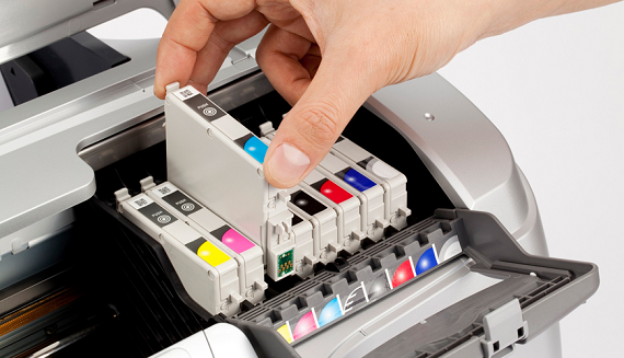 HP printer not printing color properly
