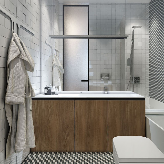 Bathroom Fitting Design