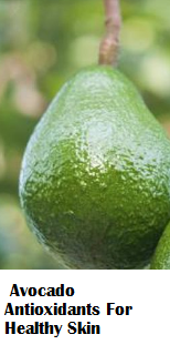 Avocado Antioxidants For Healthy Skin