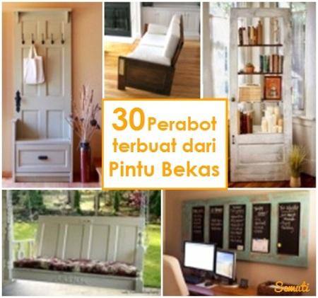 30 Perabot Terbuat dari Pintu Bekas
