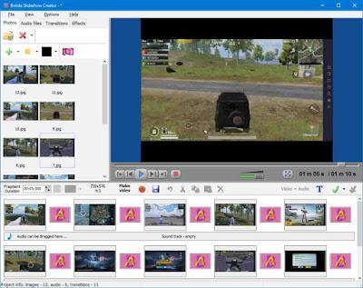 تحميل برنامج دمج الصور مع الاغانى لعمل كليب للكمبيوتر