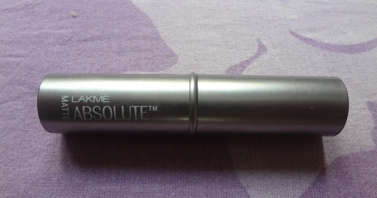 be beautiful with punam: Lakme Absolute Matte Lipstick In ...