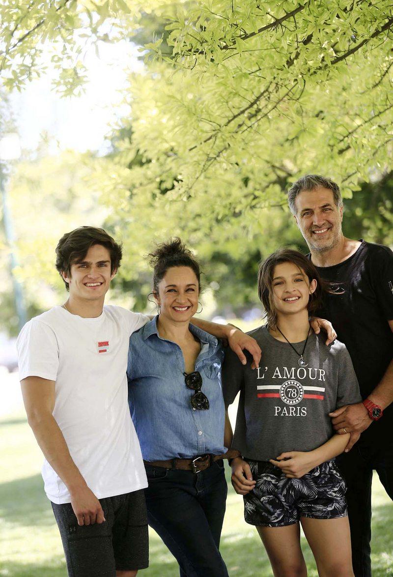 Bruno Costella, el hijo modelo de Claudia Miranda