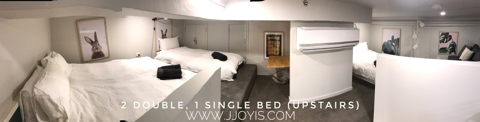 Airbnb for large groups (sleep 7) in Brisbane CBD loft