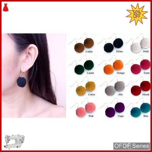 OFDF152 Aksesoris Ear Rings Charlene Ballhoops Import BMGShop