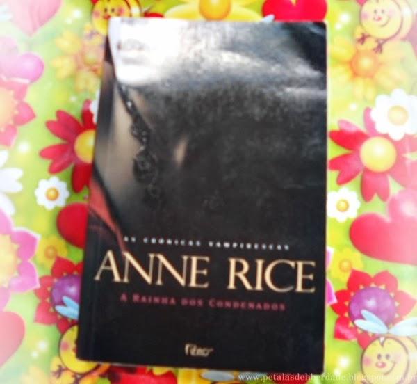 A rainha dos condenados, Anne Rice, livro, Editora Rocco, sinospe, capa, onde comprar