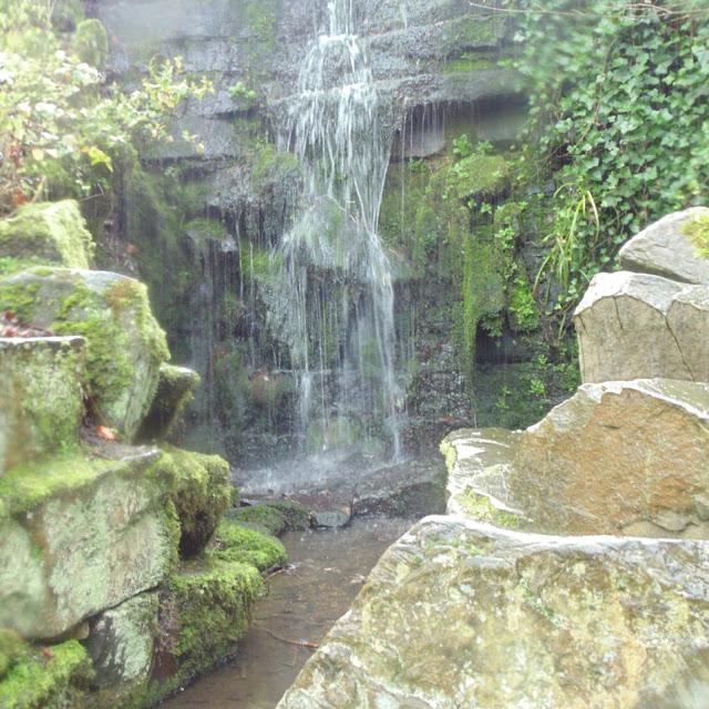 Lister park, waterfall
