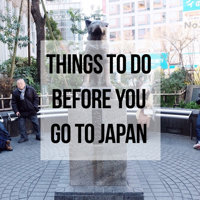 Things To Do Before You Go to Japan