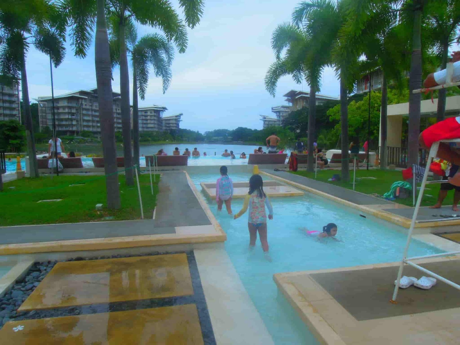 Children's pool at the Pico de Loro Beach & Country Club