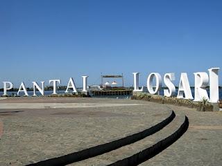 Foto DP bbm wisata alam pantai Losari