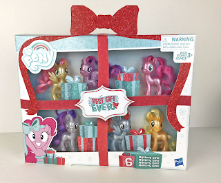 New MY LITTLE PONY CORE products for HOLIDAY 2018 include: MY LITTLE PONY BEST GIFT EVER MANE 6 CELEBRATION Set