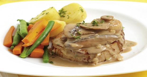 Steak With Creamy Mushroom Sauce Recipe