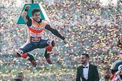 Finish Pertama MotoGP Thailand, Marquez Segel Gelar Juara Dunia 2019