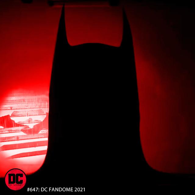 Batman and Batsignal
