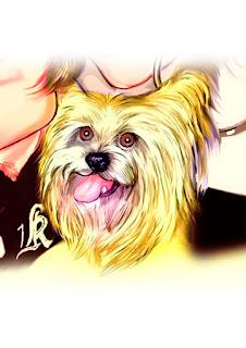 caricatura cachorrionho