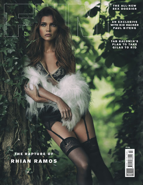 Rhian Ramos FHM's July 2016 Cover Girl