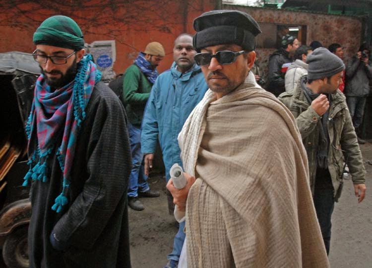 Irrfan Khan as Roohdar in Haider, Directed by Vishal Bhardwaj