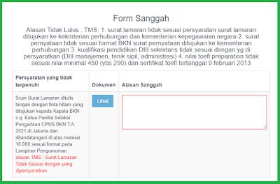 Form Sanggah