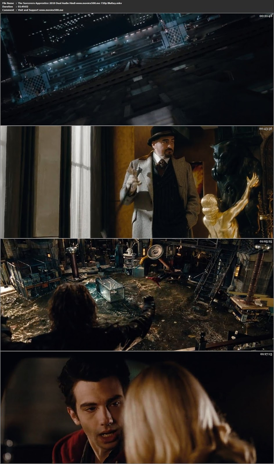 The Sorcerers Apprentice 2010 Dual Audio Hindi ENG BluRay 720p at movies500.site