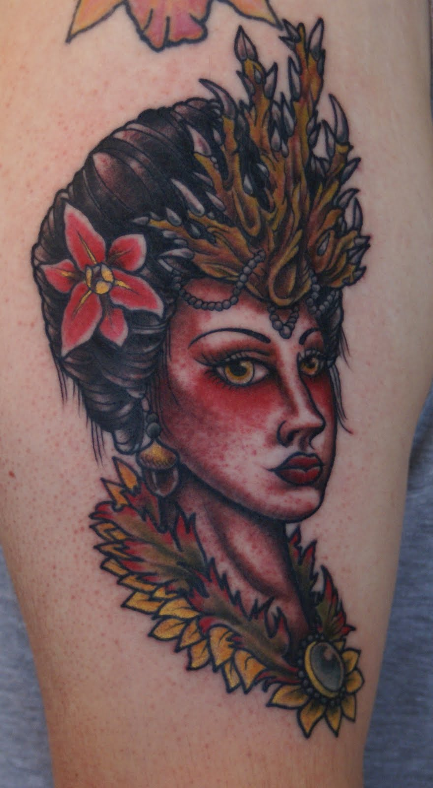 Mother Nature Tattoos: Ryan Cullen @ Classic Tattoos: Mother Nature Tattoo