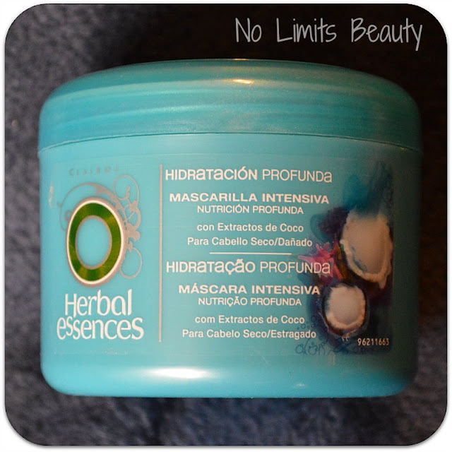 Mascarilla Hidratación Profunda de Herbal Essence (review)
