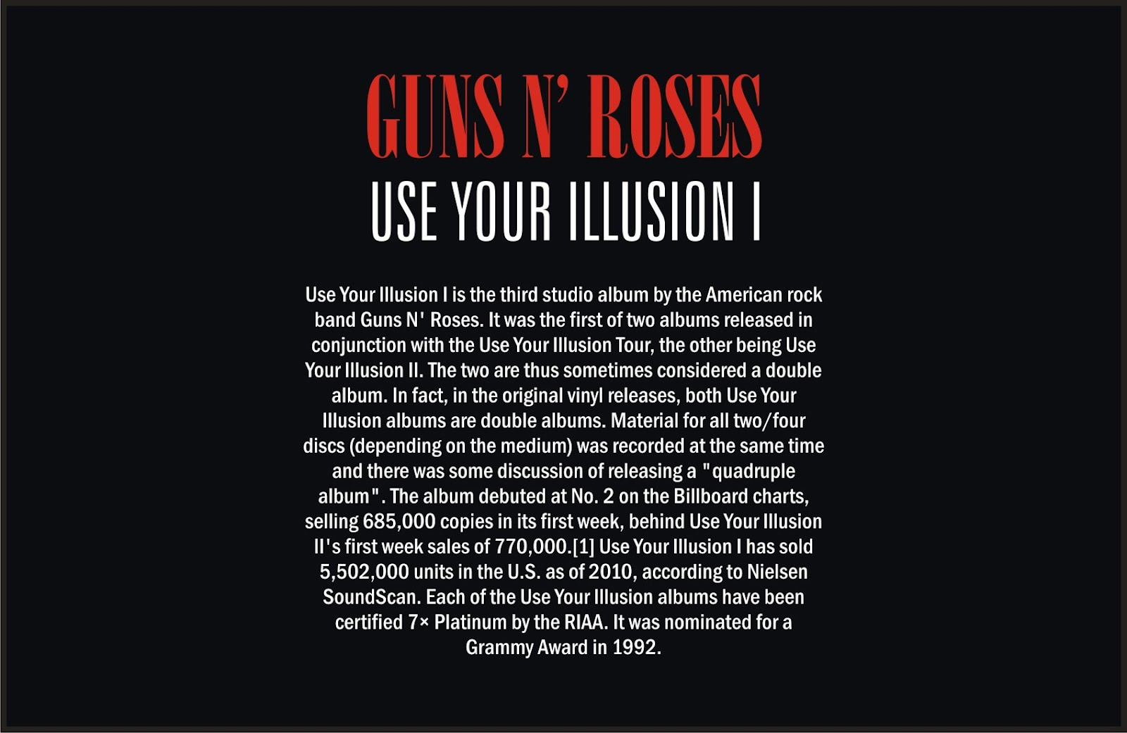 🔥 Guns N' Roses - Use Your Illusion II 1991 FLAC MP3