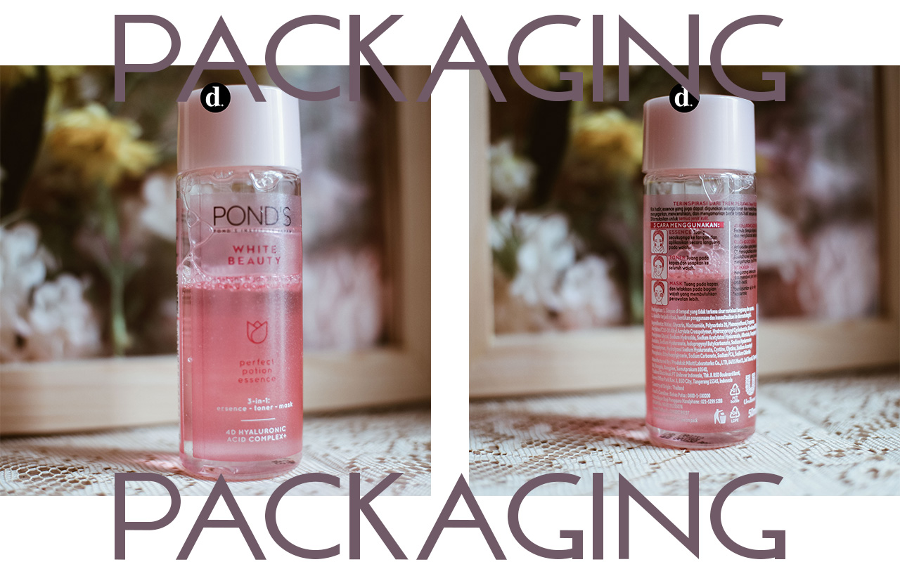 Packaging Ponds 3 in 1 Perfect Potion