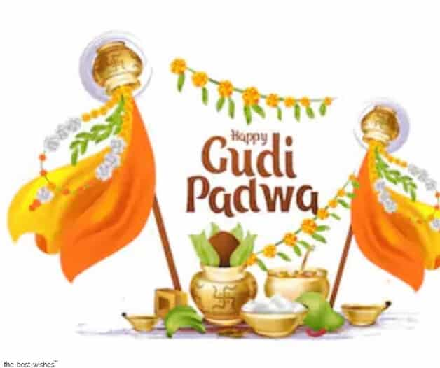images of gudi padwa festival