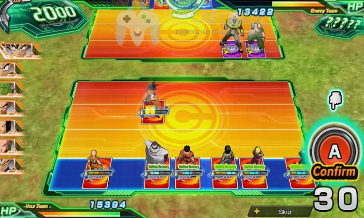 تحميل لعبة Super Dragon Ball Heroes للكمبيوتر بحجم صغير مضغوطة