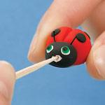 Lovely Ladybug - Step 2