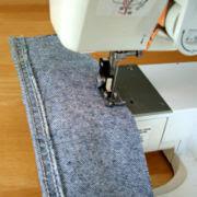como hacer carteras de jean