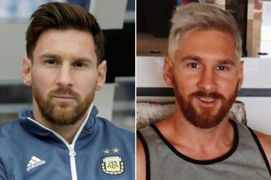 'A lot had gone on' – Lionel Messi explains why he decided to dye his hair blonde