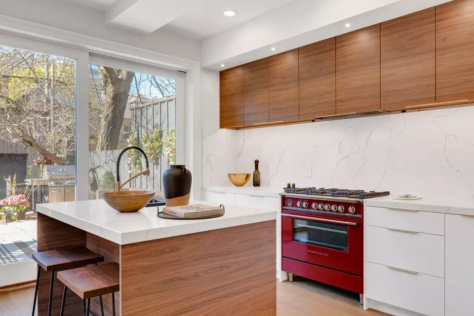 8 diseños modernos de cocinas