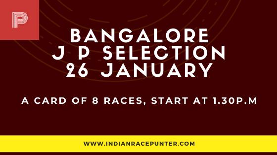 Bangalore Jackpot Selections 26 January